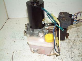 12 Volt Oildyne Hydraulic Pump w Directional Valve 12v Double Acting