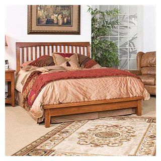Kush Furniture 5013 Wedgewood Cherry Queen Platform Sleigh