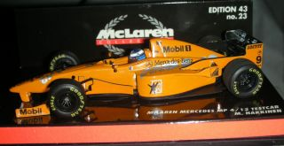 1997 Minichamps 1 43 scale Mika Hakkinen McLaren Mercedes MP 4 12