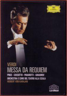 Herbert Von Karajan Leontyne Price Verdi Messa Da Requiem DVD