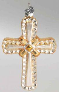 Merck Familys OLD WORLD CHRISTMAS ORNAMENT Holy Cross 8859785