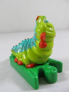 DISNEY Bugs Life Caterpillar Heimlich Worm Green Cake Topper Figure