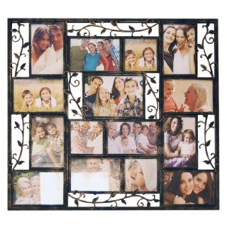 New View Leaf/vine Metal Scrollwork Collage Frame Home