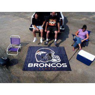 Denver Broncos NFL Team Logo Outdoor Rug / Tailgate Mat