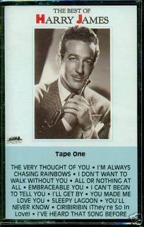 Harry James The Best of Cassette SEALED