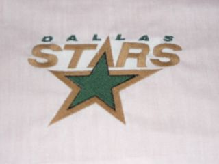 Dallas Stars Hockey Fabric Sport Quilt Blocks Set of 5