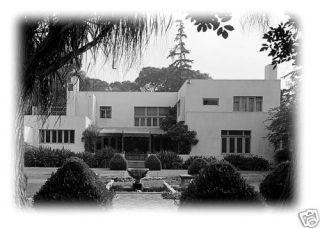 Irving Gill California Modern House Plan