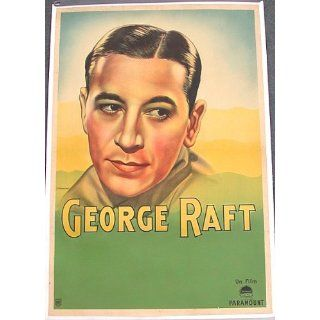 Vintage Original GEORGE RAFT PARAMOUNT STUDIOS Movie
