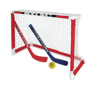 Mylec Pro Style Mini Hockey Goal Set White New
