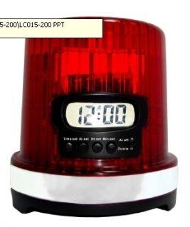 NHL Detroit Red Wings Hockey Goal Light Alarm Clock 99210