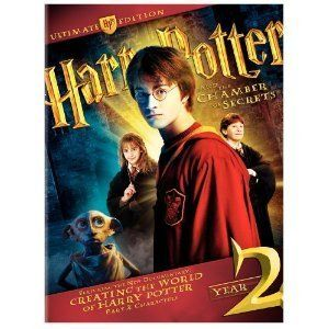 Harry Potter and The Chamber of Secrets 4 DVD Box Set Book Cards and