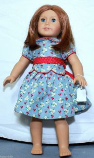 EMILY TAGGED Dress American Girl Doll Co