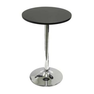 Winsome 20 In Round Bistro Table With Metal Leg