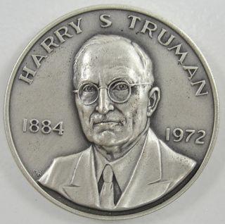 Danbury Mint Sterling Harry S. Truman 1973 Presidential Commemorative