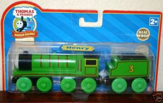 Henry Thomas Friends Wooden Railway Train Engine Brand New in Package