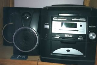 Home Stereo System With 5 CD changer