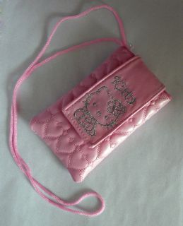 hello kitty pouch case bag for mobile phone  description