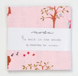 in The Woods Moda Charm Pack Aneela Hoey Little Red Riding Hood