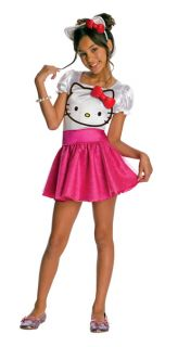 hello kitty hello kitty tutu dress child costume size large 12 14 for