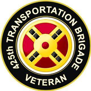 US Army Veteran 425th Transportation Brigade Decal Sticker