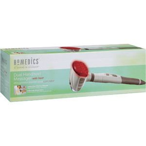 Homedics Handheld Full Body Percussion Massager w Dual Heat HHP 230