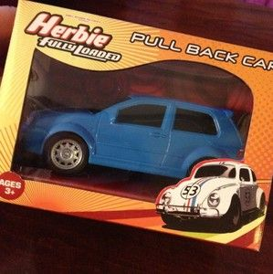 Herbie Fully Loaded Pull Back VW Volkswagen GTI Golf R32 Movie Car