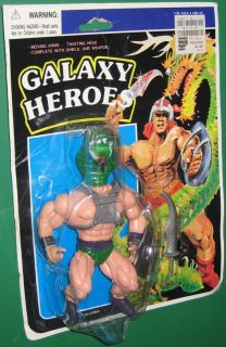 Galaxy Heroes Snake Head Action Figure He Man Wannabe