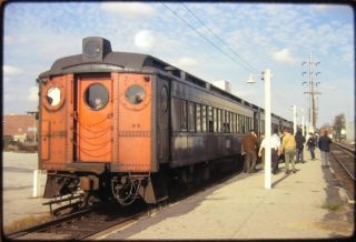 Railroad Slide Long Island (LIRR) #4137 West Hempstead NY 1970