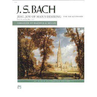 Jesu, Joy of Mans Desiring Sheet (Alfred Masterwork) Johann
