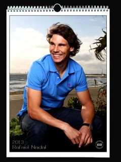 Rafael Nadal 2013 Wall Holiday Calendar