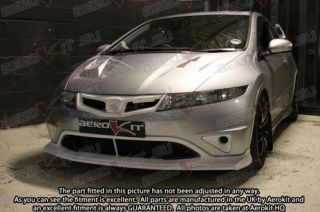 Honda Civic FN2 Type R Aerokit Spec R 1 Front Lip Splitter Bodykit