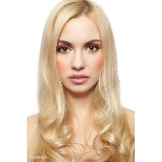 20 Remy (Remi) Human Hair Clip in Extensions Light