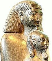 RARE Egyptian Statue Ancient Senmut Princess Neferure