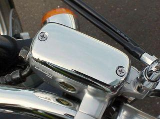 Honda Shadow 600 750 Spirit 1100 VT1300 VTX CHROME FRONT BRAKE FLUID