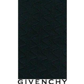 GIVENCHY Tuxedo Shine Rib Texture KNEE HIGH SOCKS BLACK