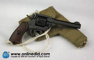 WWII British Michael Taylor Red Devils Enfield Revolver Holste