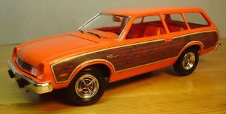 1977 78 Ford Pinto Squire Woodgrain Decal ( Fits MPC Wagon )