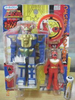 Yutaka Power Rangers Super Sentai Choriki Ohranger Zeo Red Figure