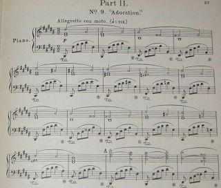 Holy City Oratorio Gaul SATB Choral Music Score Piano