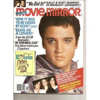 Movie Mirror Magazine Aug.1979 Vol.23, No.6 Elvis on Cover Elissa