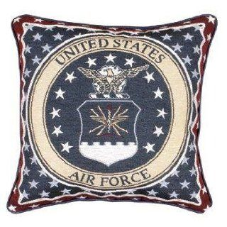 U.S. Air Force Insignia Theme Decorative Throw Pillow 12
