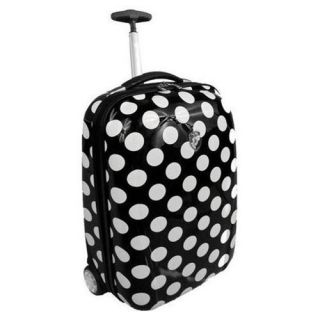 NEW Heys USA Xcase Exotic 20 Hardside Carry On Upright   Tiger   Polka