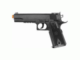 Black 500 FPS Heavy Weight M1911 CO2 Gas Airsoft Gun Pistol