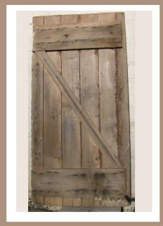 BARN DOOR RUSTIC FARM ANTIQUE PRIMITIVE STYLE HOME DECORATING