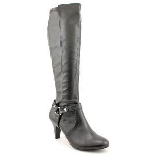 Karen Scott Henson Womens Size 9.5 Black Synthetic Fashion   Knee High