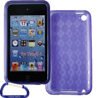 Gizmo Dorks TPU Skin Case Cover (Purple) with Carabiner