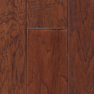 Hand Scraped Antique Hickory Hardwood Flooring Wood Floor