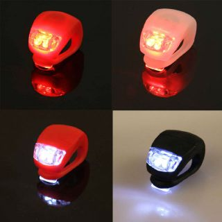 Bike Bicycle Cycling LED Rear Light Bright Tail Taillight