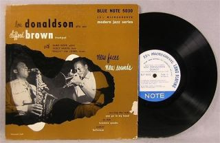 Lou Donaldson Clifford Brown New Faces New Sounds Blue Note 5030 10