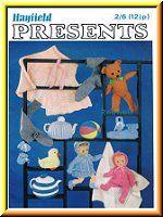 Bazaar Toys Gifts Knitting Crochet Pattern Books on CD